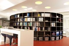ronde boekenkast