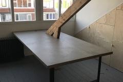 betontafel zolder