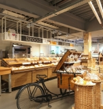 Nieuw interieur EKO Plaza - broodkar