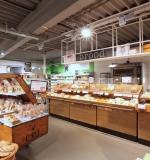Nieuw interieur EKO Plaza - broodkar in de winkel