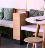 Nieuw interieur EKO Plaza - zitje