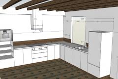 Huisman keuken na inmeten