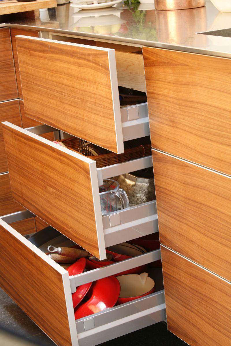 Leidse keuken in notenhout